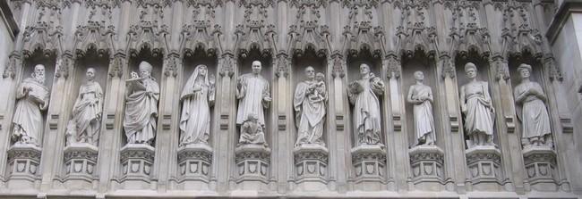 Вестминстерское аббатство, галерея мучеников