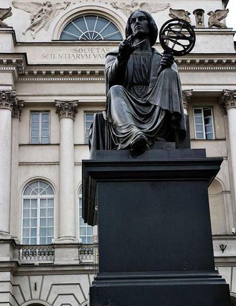 Памятник Копернику, Бертель Торвальдсен, Варшава, Польша