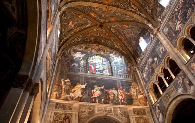 Рельефы Пармского собора