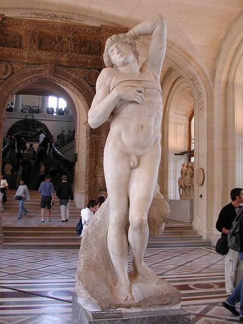 Умирающий ра, Микеланджело