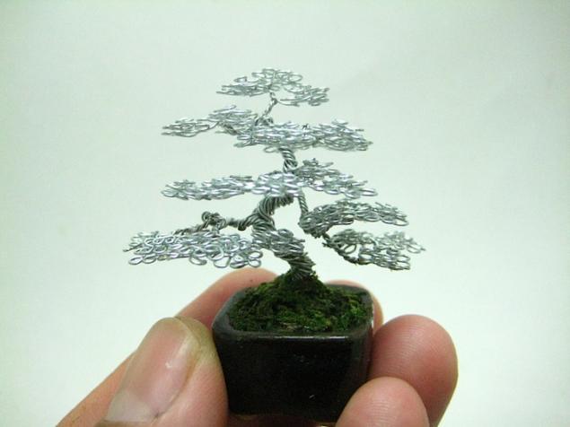 Кен То, дерево из проволоки, скульптура