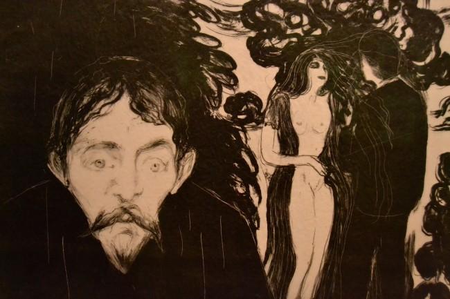 Ревность, Мунк, 1895