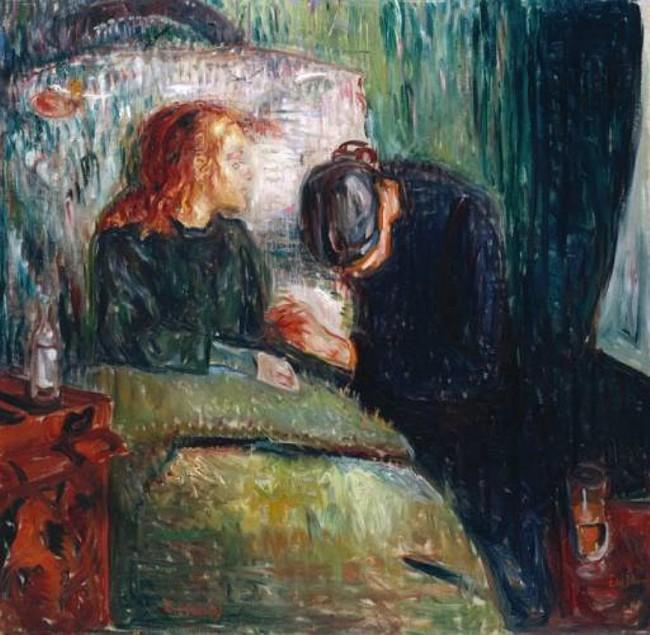 Больная девочка, Мунк, 1886