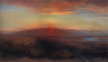 """Картина """"Рожь"""", Саврасов, 1881"""