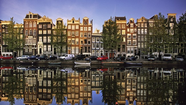 Фото Амстердама, канал