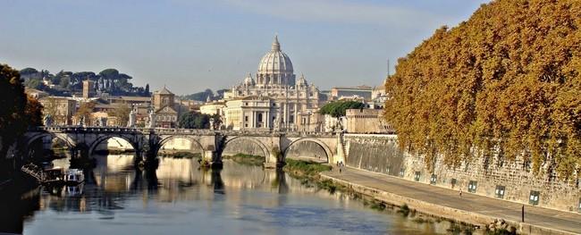 Рим, осень, 2014, нобярь