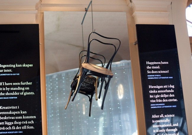 Бистро в музее Нобеля
