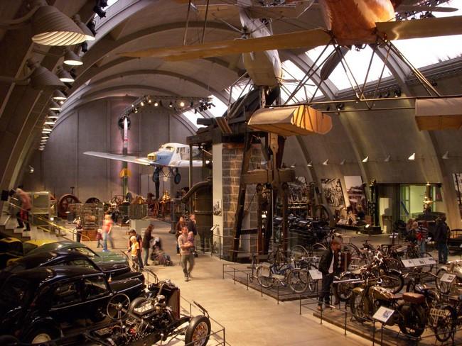 Один из залов технического музея