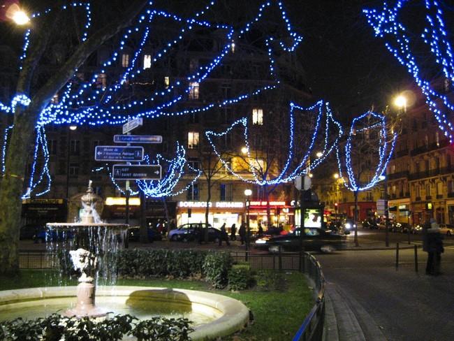 Париж, декабрь