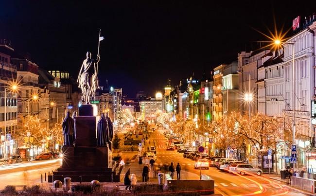 Рождество, Прага