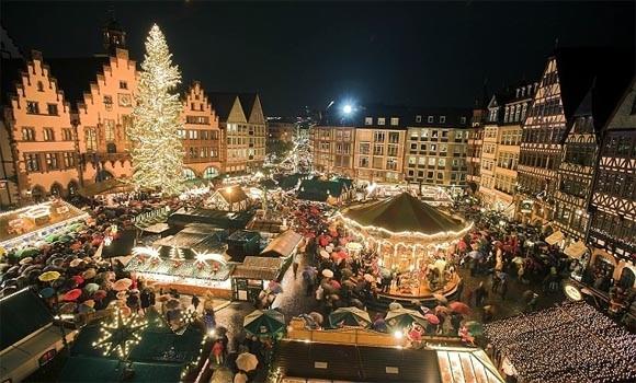 Рождественская ярмарка в Мюнхене