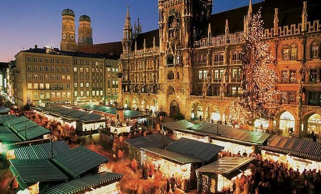 Мюнхен, декабрь, ночь