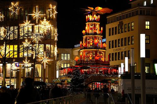Ганновер в декабре, Германия, Рождество