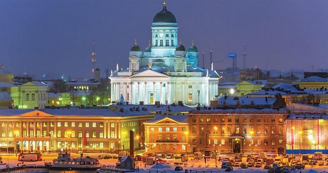 Хельсинки, декабрь, Финляндия