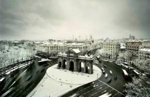 Зимний Мадрид