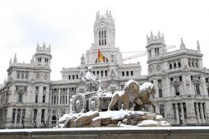 Мадрид, зима