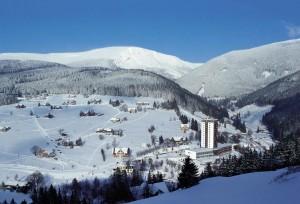 Пец под Снежкой, курорт, Чехия