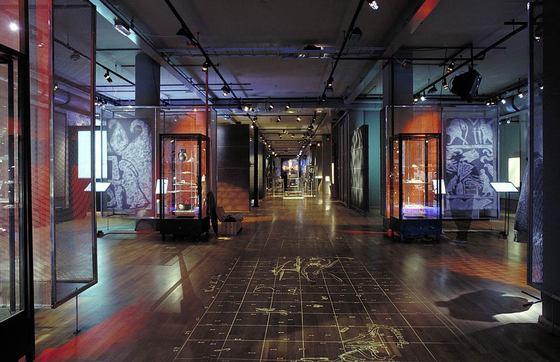 Один из залов исторического музея, Стокгольм