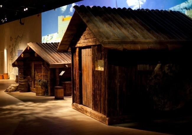 Старая изба, Стокгольм, музей Средневековья