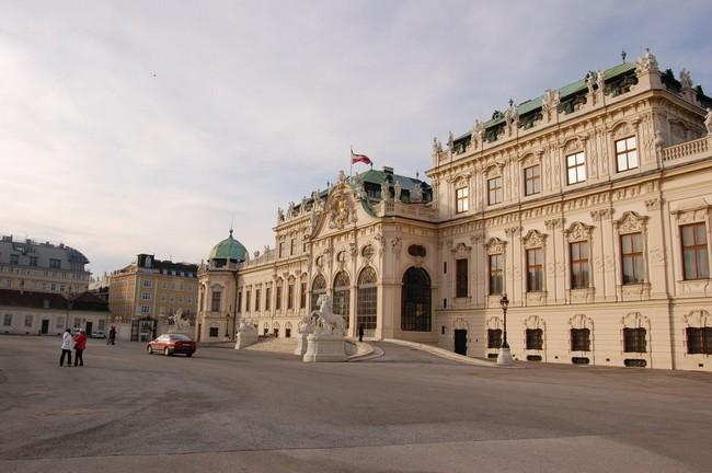 Здание галереи Бельведер