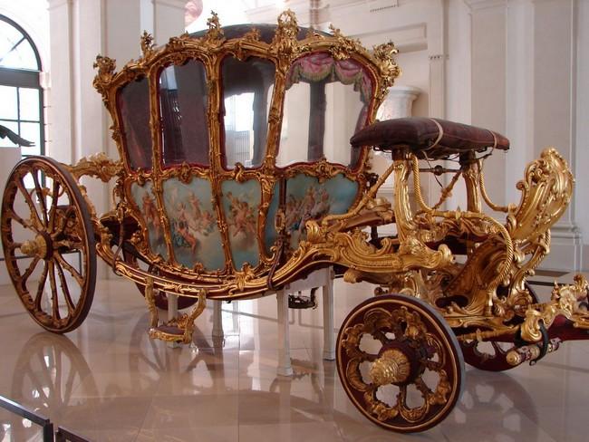 Красивейшая карета в Дворце Лихтенштейн