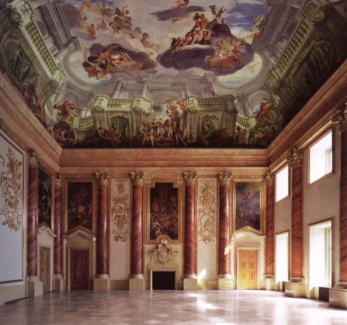 Залы, музей Лихтенштейн