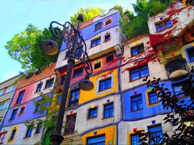 Дом Хундертвассера в Вене, Австрия: адрес, фото, как добраться