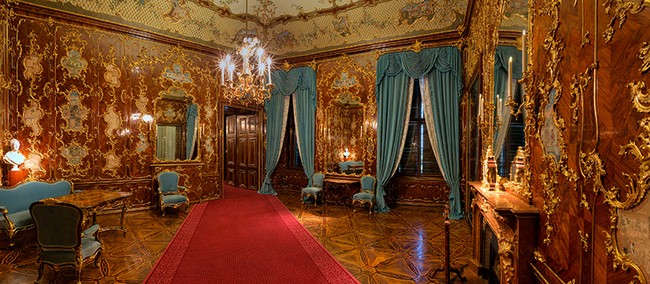 Один из залов дворца Шенбрунна, Австрия, Вена