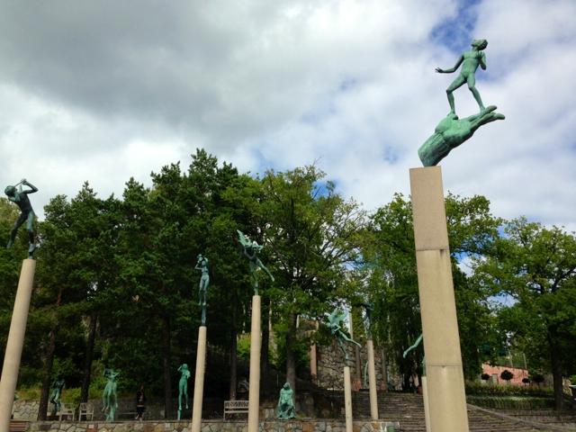 "Скульптура ""Рука Бога"", Миллесгорден, Шаеция, Стокгольм"