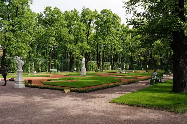 Летний сад в Петербурге
