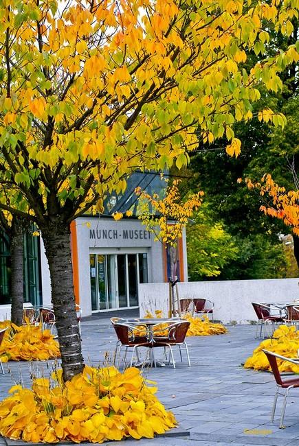 Музей Мунка осенью