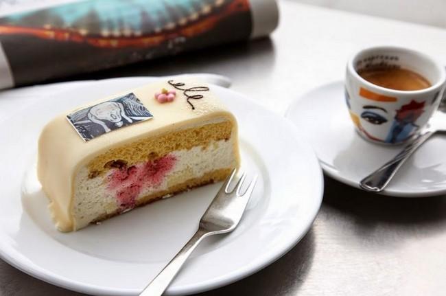 Как Вам пирожное ? =)