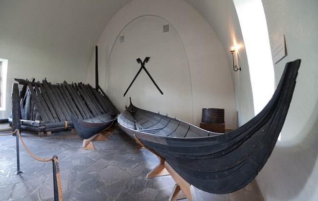 Другие лодки в музее кораблей викингов