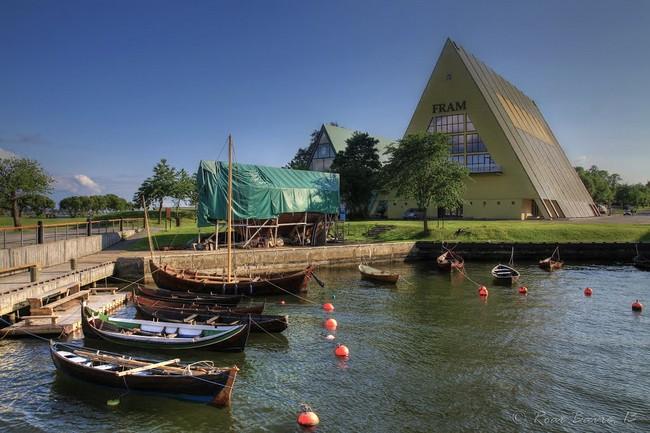 Музей Фрама: корабль Нансена, Амундсена и Свердрупа