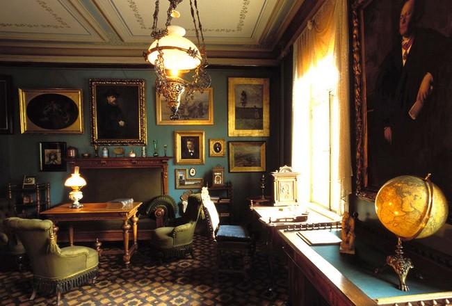 Одна из комант музея Ибсена