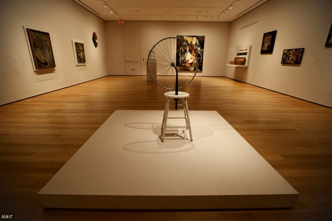 Один из экспонатов МоМА, Нью-Йорк