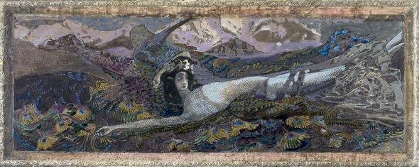 Демон 1901 года, эскиз