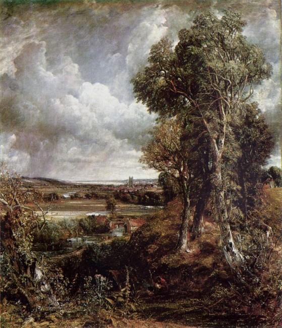 Дедхемская долина, Джон Констебл - описание картины