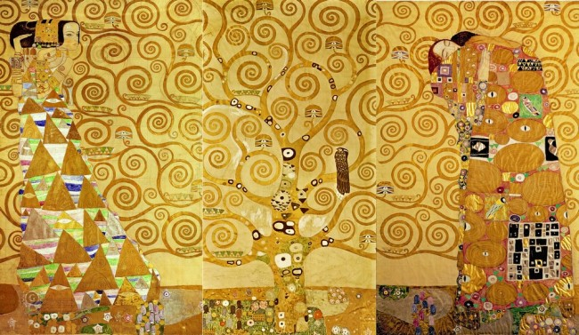 "Картина ""Древо жизни"", Густав Климт - описание"