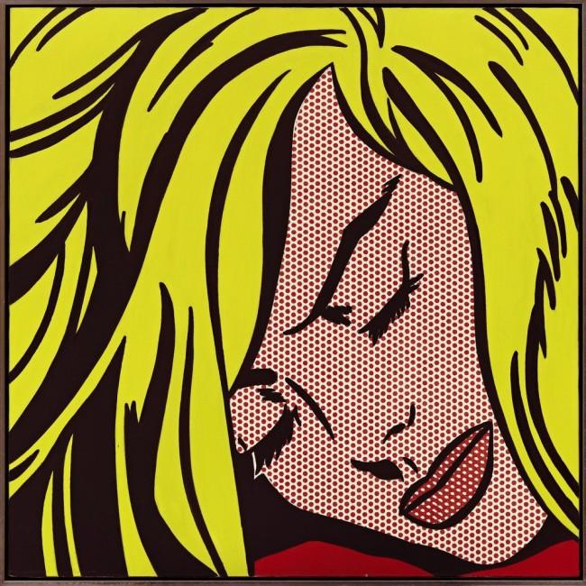 Спящая девушка, Рой Лихтенштейн