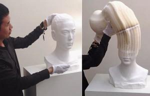 Гибкие скульптуры из бумаги, Ли Хунбо