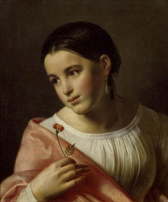«Бедная Лиза», Орест Адамович Кипренский — описание картины