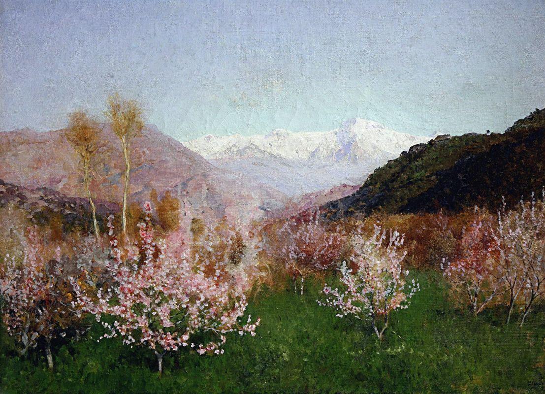 Весна в Италии», Исаак Ильич Левитан — описание картины