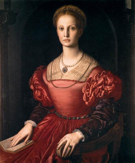 «Портрет Лукреции Панчатики», Аньоло Бронзино — описание