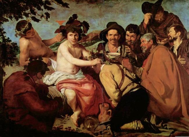 «Триумф Вакха», Диего Веласкес — описание картины