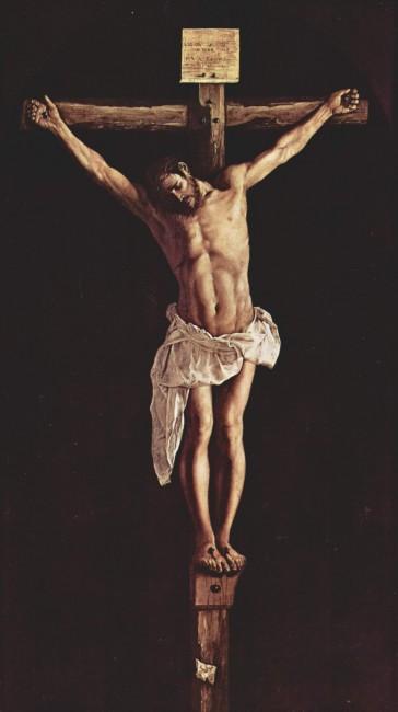 «Христос на кресте», Франсиско де Сурбаран — описание картины