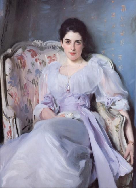 «Портрет леди Энью», Джон Сингер Сарджент — описание картины