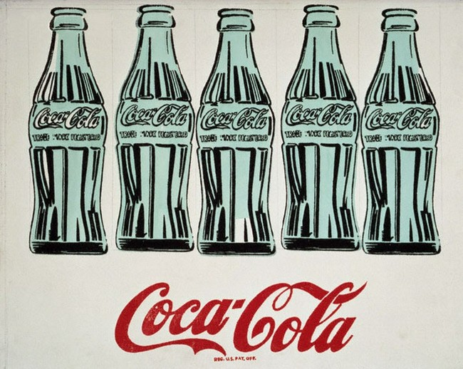 «Зелёные бутылки кока-колы» Энди Уорхола