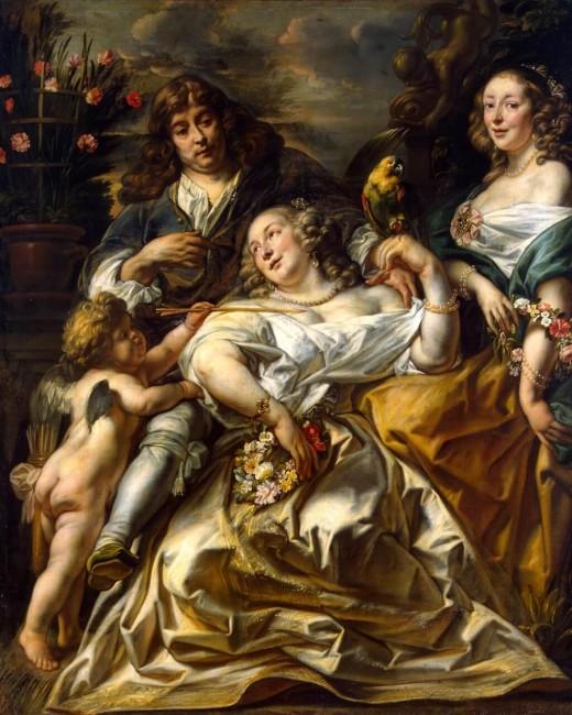 «Семейный портрет», Якоб Йорданс — описание картины