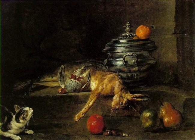 «Серебряная супница», Жан Батист Симеон Шарден — описание картины